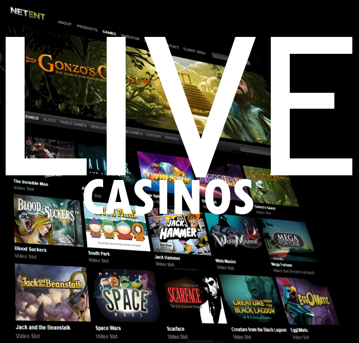 Netent Live Casinos - Video & Audio Progress